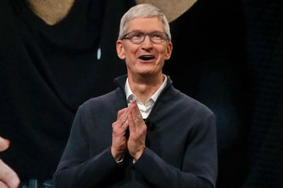 Tim Cook laughed when asked about Yandex.Telephone.