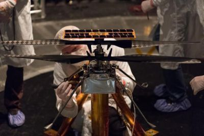 NASA has tested the first Martian helicopter