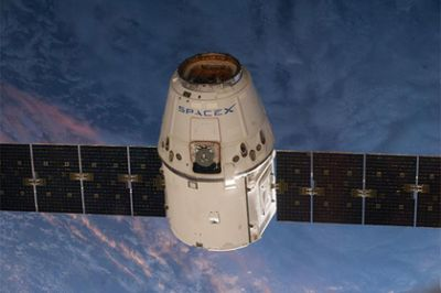 Dangerous cable found on Dragon on ISS