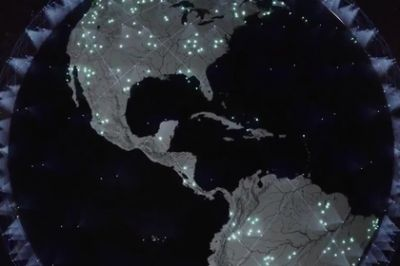 SpaceX launched 60 satellites for the global Internet