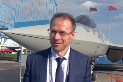 The designer explained the non-standard landing of the Su-57