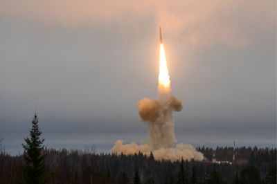 "Russia ""hit"" Kamchatka with Topol-M missile"