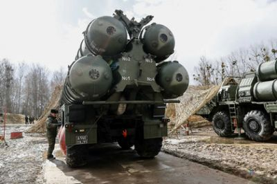In the US, equalized the S-400 and Patriot