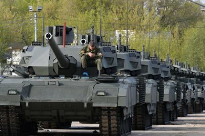 In China, explained the advantage of the T-14 Armata over the M1 Abrams