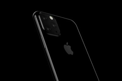 Apple showed the iPhone 11 Pro with a triple camera