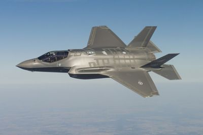 "Russian containment by the ""northern"" F-35s failed"