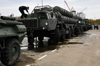 S-400 was first sent to exercises abroad