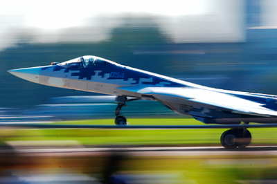 In the United States, selected buyers of the Su-57